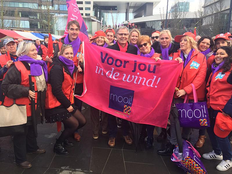 FNV MOOI leden stemmen mee over pensioenresultaat