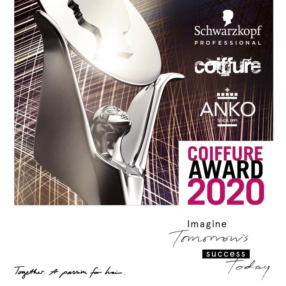 Coiffure Award – VERPLAATST naar 12 september 2021